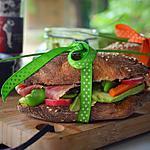 recette sandwich varié pour pique nique  - pain fait maison