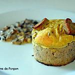recette Une couronne ardennaise avec un boudin de Rethel et un fromage de Chaource