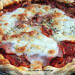 recette Tarte aux tomates  et bacon