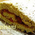recette Roulé aux noisettes, à la confiture de Kumquat.