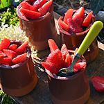 recette Riz au lait maison avec des fraises