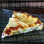 recette Quiche mozza tomates et courgettes