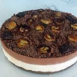 recette Bavarois spéculoos croquants mousse banane chocolat