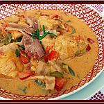 recette Filets de poulet au Paprika fumé et aux poivrons.