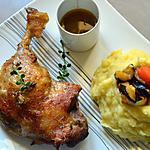 recette Cuisses de canard au four