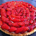 recette Tarte aux fraises gariguette au thermomix