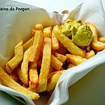 recette Des frites maison croustillantes et légères!