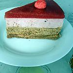 recette Bavarois croquant mousse fraise/speculoos