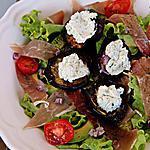 recette Salade composé Aubergine