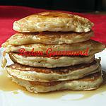 recette Pancakes aux bananes, garnitures aux bleuets