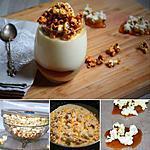 recette Panna Cotta au pop corn micro ondes
