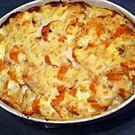 recette Gratin de haddock à la choucroute