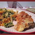 recette Escalopes de dinde gratinées à la tomate