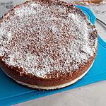 recette Bavarois mousse coco et chocolat