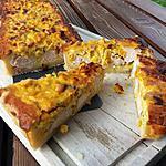recette Tarte au poulet, au maïs et au curry