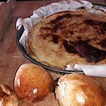 recette tarte suisse crème canelle