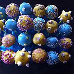 recette Cakes pops chocolat noisettes
