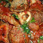 recette Osso bucco aux champignons