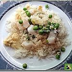 recette Dos de cabillaud, sauce au yaourt à l'indienne