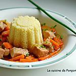 recette Filet mignon au wok accompagné de carottes