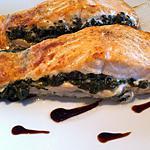recette Pavés de saumon farcis à l'oseille