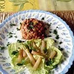 recette porc a   l ananas                  et    salsifis