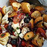recette Panzanella (recette italienne)