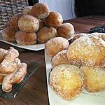 recette beignets chocolat zeste d'orange allégés en sucre !