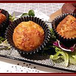 recette Muffins Chorizo et Comté