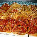 recette cannelloni a la chair à saucisse