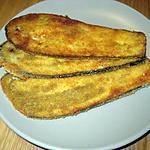 recette Tranches d'aubergines panées