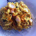 recette Haddock poché à la crème de curry (compatible dukan)