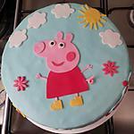 recette Gâteau d'anniversaire Peppa Pig