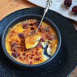 recette Crème brûlée aux cerises du jardin