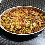 recette Gratin de courgettes et de tomates