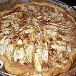 recette Tarte pomme vergeoise