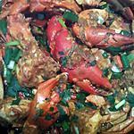 recette bouillon crabe (cari crabe) réunion,