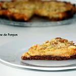 recette Tarte aux poires au chocolat blanc et amandes