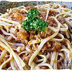recette spaghettis plats à la bolognaise
