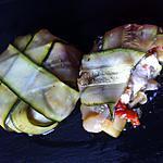 recette Ballotines de courgettes coeur ratatouille emmental (compatible dukan)