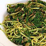 recette Spaghetti aux épinard