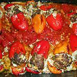 recette Mini poivrons farcis boeuf et mozzarella