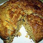 recette Gâteau libérien à l'ananas et aux noix ( ni sucre ni corps gras)
