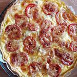 recette Quiche tomates, thon, mozzarella