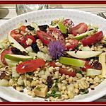 recette Salade de Blé sucré-salé