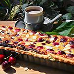 recette Tarte amandine aux cerises du jardin