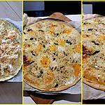 recette Pizza aux 5 fromages