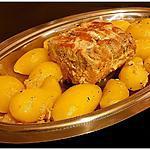 recette Rôti de porc au lait