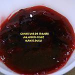 recette Confiture de fraises au micro-onde