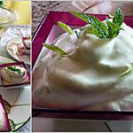 recette Mousse mojito à la Ricotta